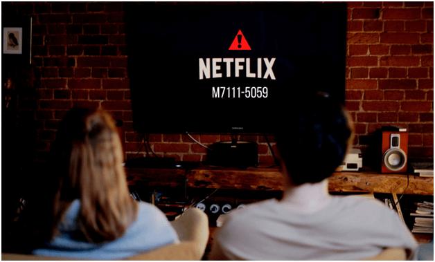 Netflix error code M7111-5059